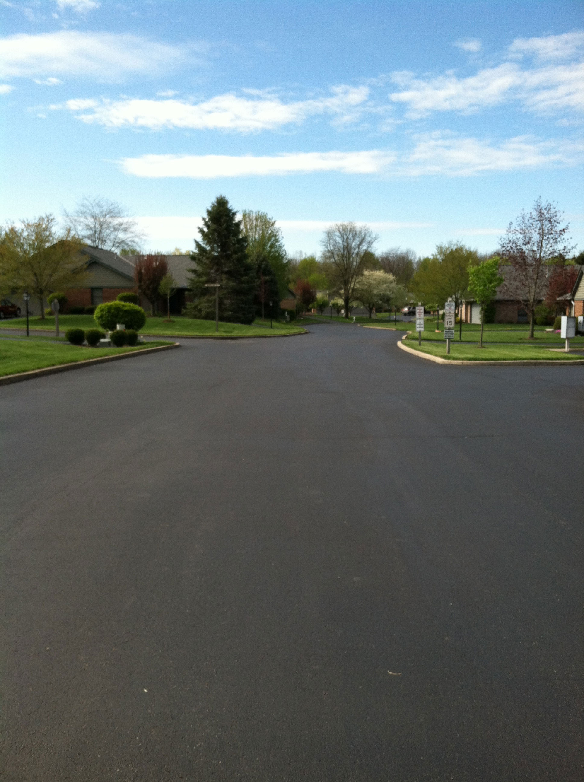 Asphalt Seal Coating